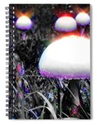 Shiny Happy People Trip Spiral Notebook