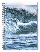 Shiny Wave Spiral Notebook