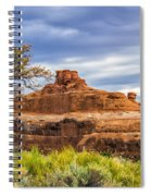 Ship In The Desert Spiral Notebook