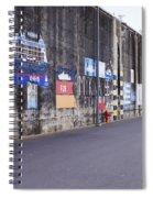 Ship Murals Spiral Notebook