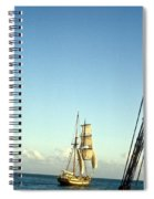 Ship Off The Bow Spiral Notebook