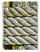 Ship Rope Anchored Spiral Notebook