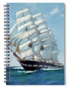 Ship Waimate - Detail Spiral Notebook