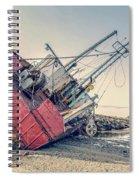 Shipwreck Provincetown Breakwater Spiral Notebook