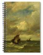 Shipping In A Breeze Spiral Notebook