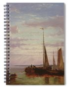 Shipping In A Calm  Spiral Notebook