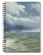 Shipping In Open Seas Spiral Notebook