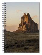 Shiprock 2 - North West New Mexico Spiral Notebook
