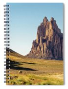 Shiprock 3 - North West New Mexico Spiral Notebook