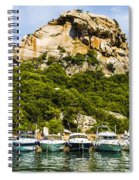 Ships Collection To Italian Harbor Spiral Notebook