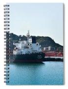 Ships Spiral Notebook