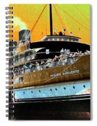 Shipshape 6 Spiral Notebook