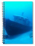 Shipwreck Spiral Notebook