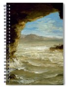 Shipwreck On The Coast  Spiral Notebook