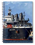 Port Of Amsterdam Spiral Notebook