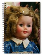 Shirley Temple Doll Spiral Notebook