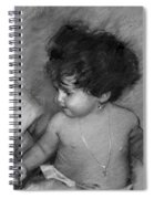 Shirtless Baby Spiral Notebook