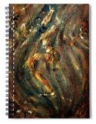 Shiva Eternal Dance - Vintage Spiral Notebook
