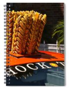 Shock Top Spiral Notebook