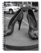 Shoe Sculpture Grand Junction Co Spiral Notebook