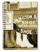 Shoe Shopping In The 30's Spiral Notebook