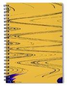 Shoestring Eucalyptus Abstract Spiral Notebook