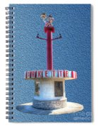 Shoneys Big Boy Museum Spiral Notebook