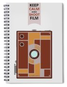 Shoot Film Spiral Notebook