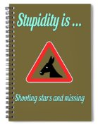 Shooting Bigstock Donkey 171252860 Spiral Notebook