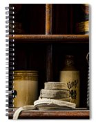 Shop Counter Spiral Notebook