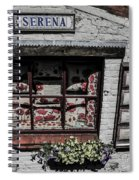 Shop Of Bruges Spiral Notebook