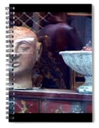 Shop Window Spiral Notebook