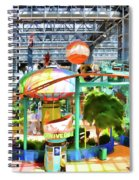 Shoppers Paradise  Spiral Notebook