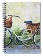 Shopping Day In Lucca Italy Spiral Notebook