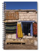 Shopping In Toconao Chile Spiral Notebook