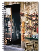 Shopping In Tuscany Spiral Notebook