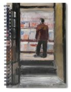 Shopping Solo Spiral Notebook