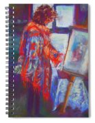 Shopping The Art Fair Spiral Notebook