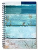 Shore And Moonrise Spiral Notebook