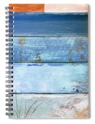 Shore And Sunset Spiral Notebook