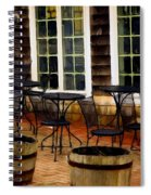 Shore Cafe Spiral Notebook