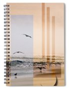 Shore Collage Spiral Notebook
