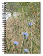 Shore Flowers Spiral Notebook