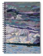 Shore To Shore Showers Spiral Notebook