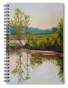 Shoreline At Evening Spiral Notebook