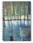 Shoreline Reflections Spiral Notebook