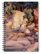 Shoreline Rocks Spiral Notebook