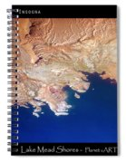 Shores Of Lake Mead Planet Art Spiral Notebook