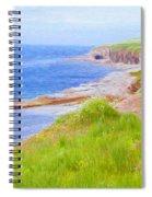 Shores Of Newfoundland Spiral Notebook