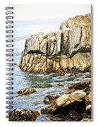 Shores Of Pebble Beach Spiral Notebook